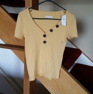 American Eagle Shirt Size S NWT